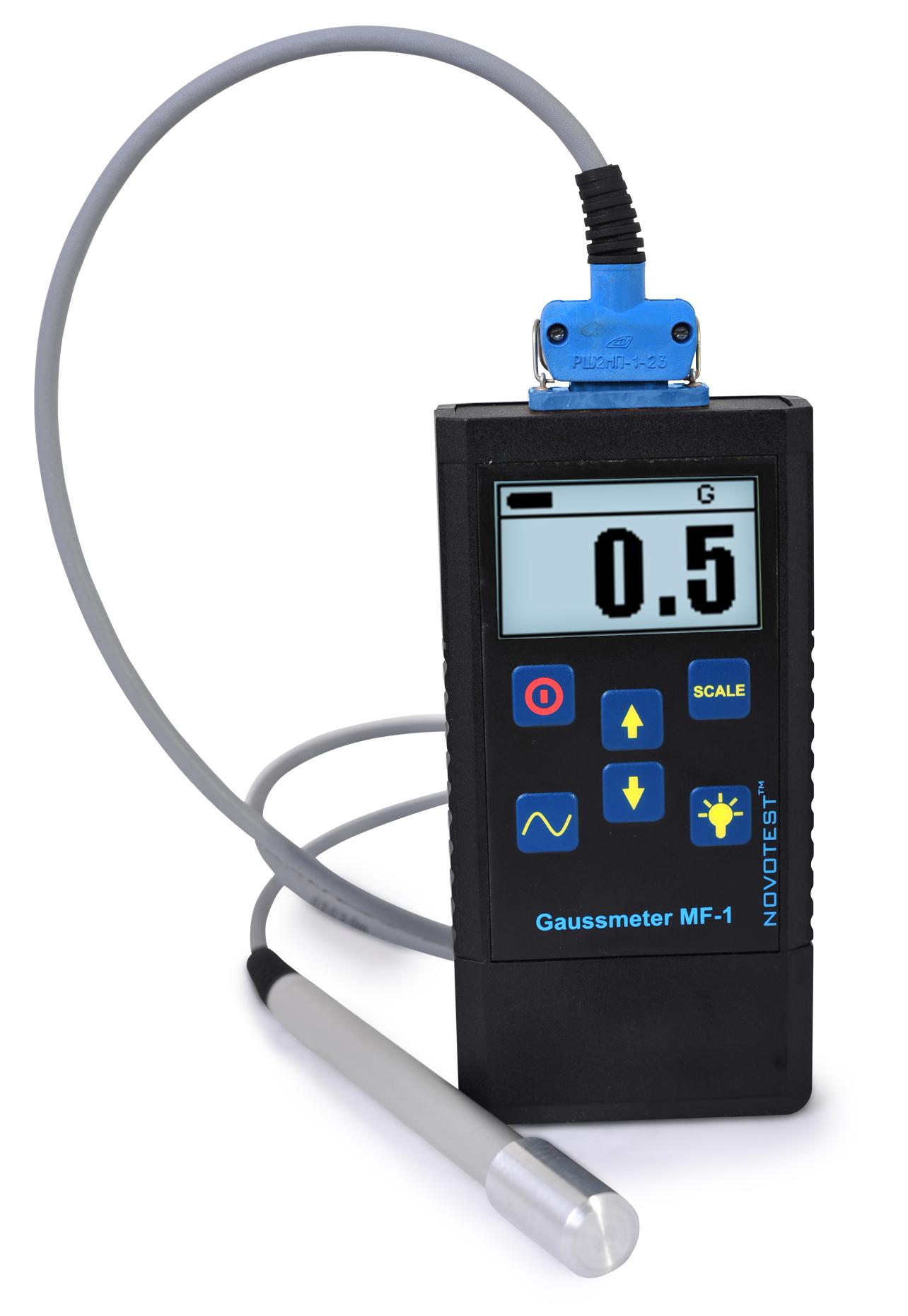 Gaussmeter (magnetometer) NOVOTEST MF-1