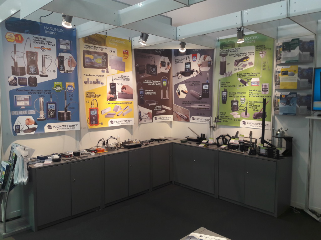 Novotest exhibition Control 2017 (Stuttgart, Germany) - 9