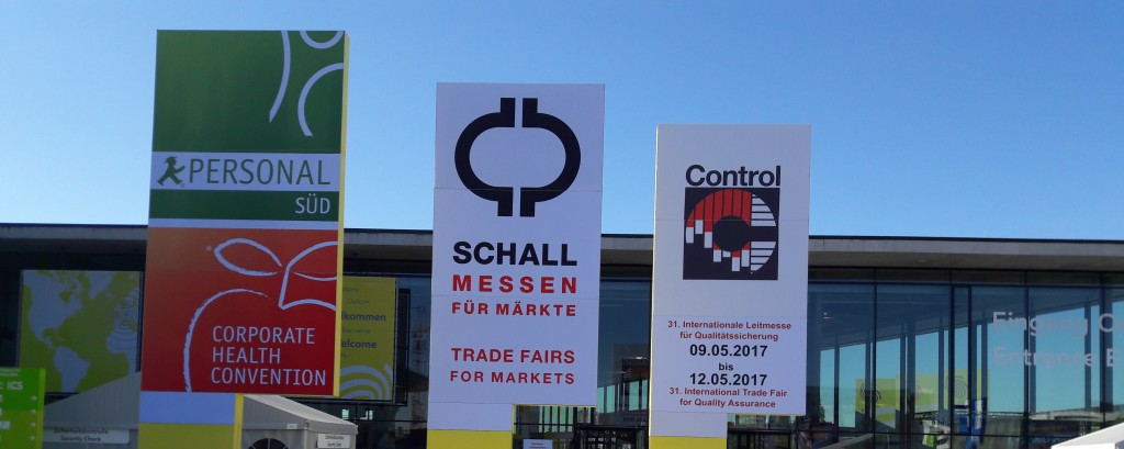 Novotest exhibition Control 2017 (Stuttgart, Germany)