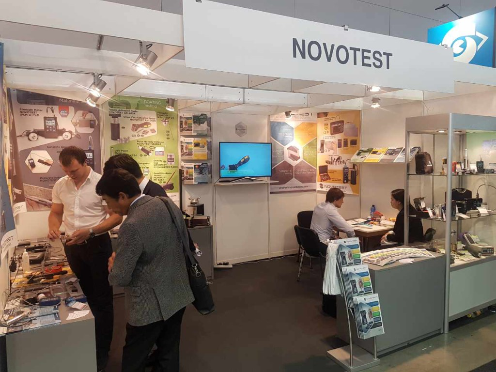 Novotest exhibition Control 2017 (Stuttgart, Germany) - 6