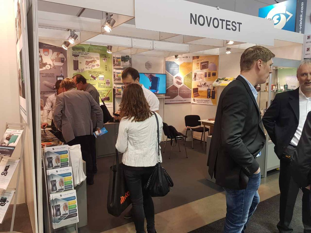 Novotest exhibition Control 2017 (Stuttgart, Germany) - 8
