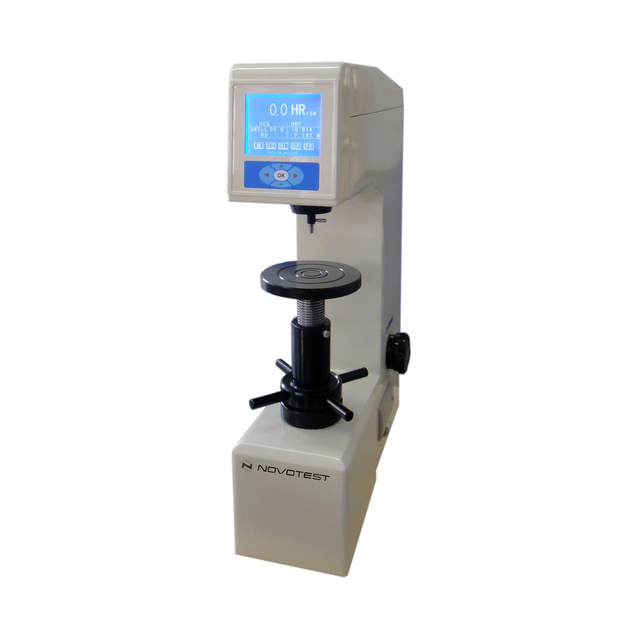Digital Superficial Rockwell Hardness Tester NOVOTEST TB-SR-C