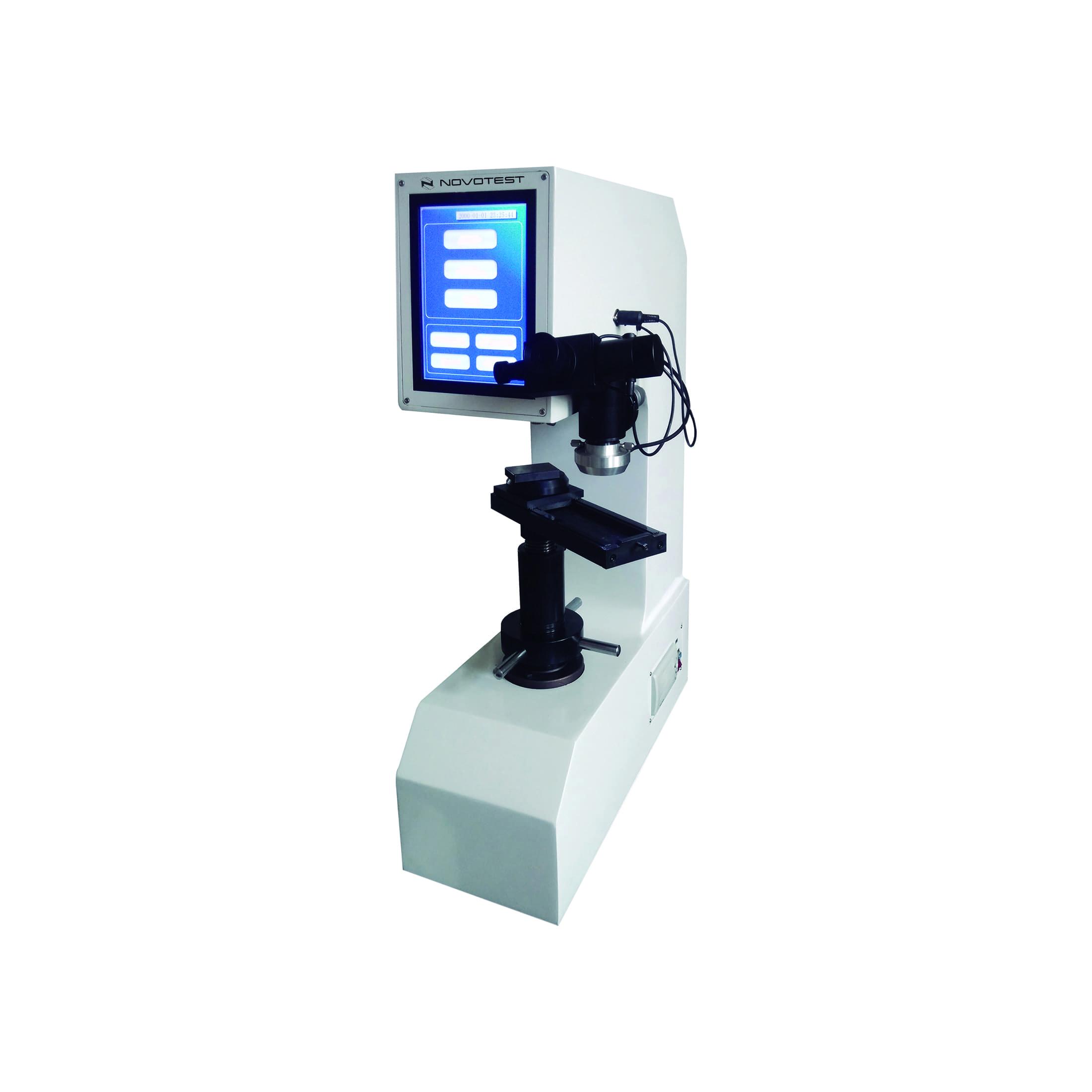Digital Brinell, Rockwell, Vickers Hardness Tester NOVOTEST TB-BRV-D