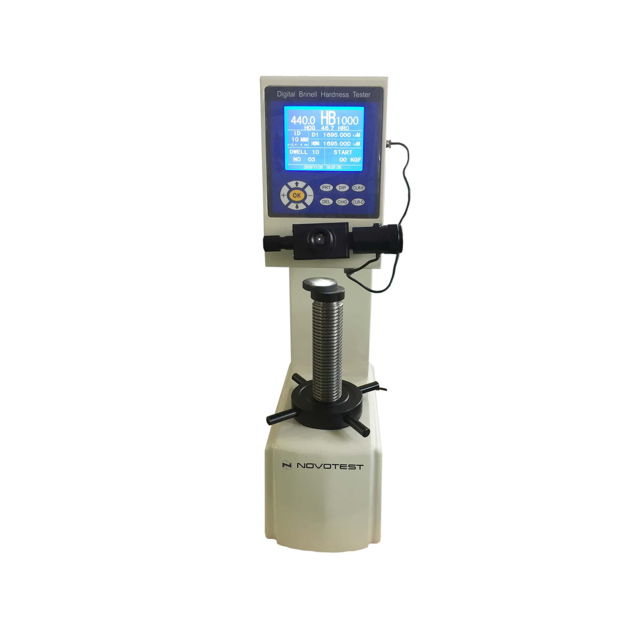 Digital Brinell Hardness Tester NOVOTEST TB-B-C-1