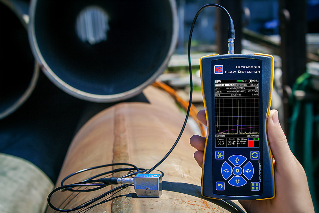 Ultrasonic Flaw Detector NOVOTEST UD2301 5
