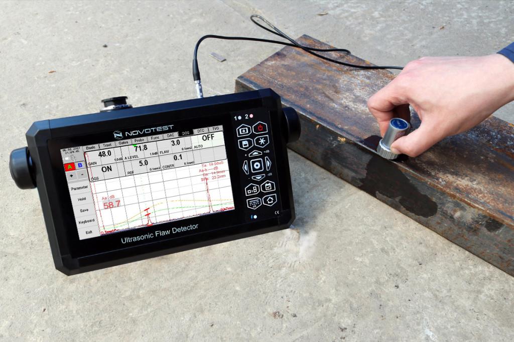 Ultrasonic Flaw Detector NOVOTEST UD3701