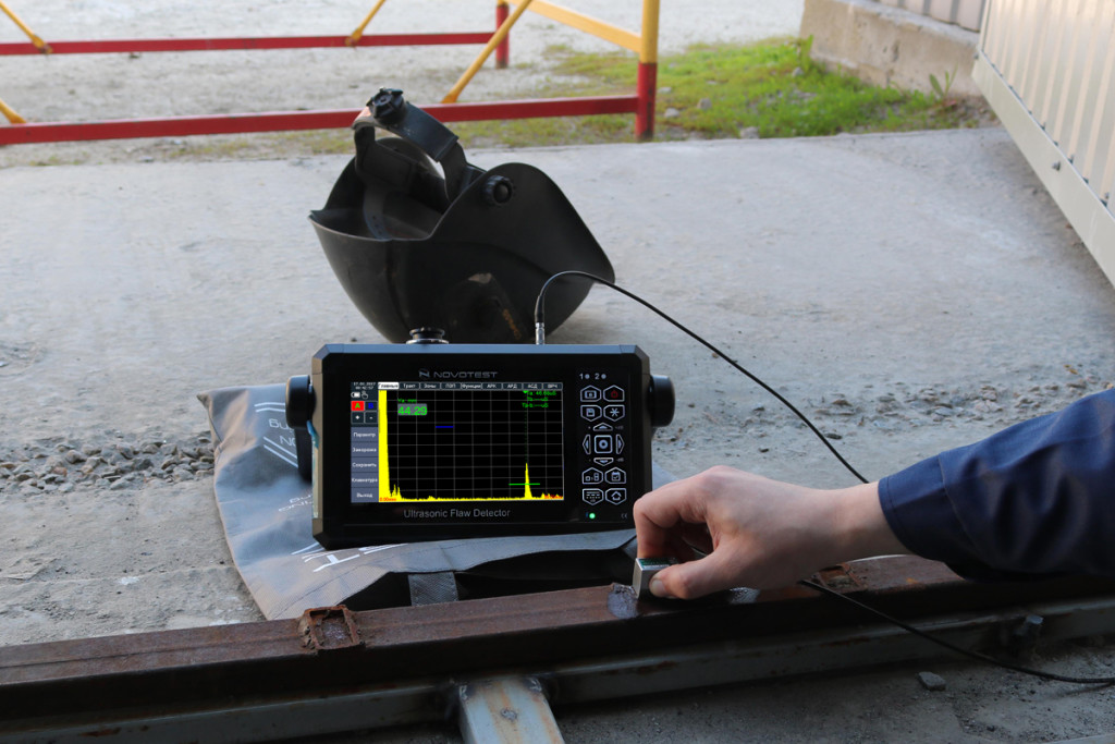 Ultrasonic Flaw Detector NOVOTEST UD3701 2