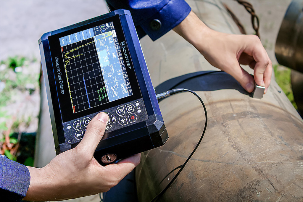 Ultrasonic Flaw Detector NOVOTEST UD3701 4