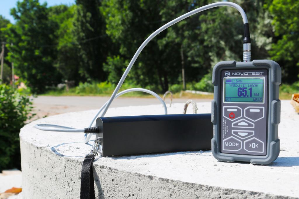 Concrete Cover Meter NOVOTEST Rebar Detector 6