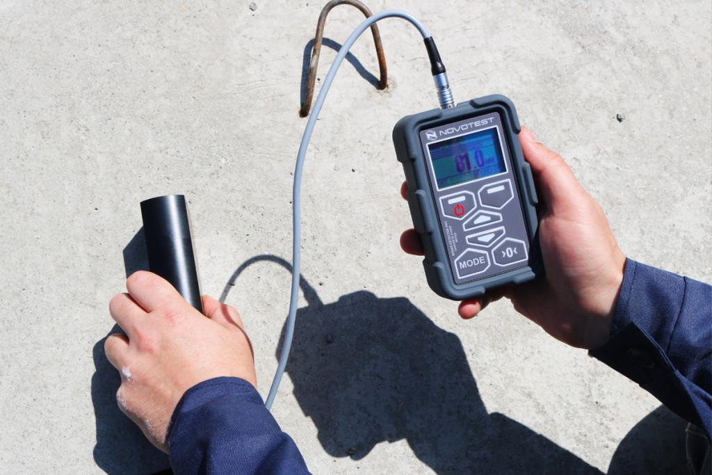 Concrete Cover Meter NOVOTEST Rebar Detector 7