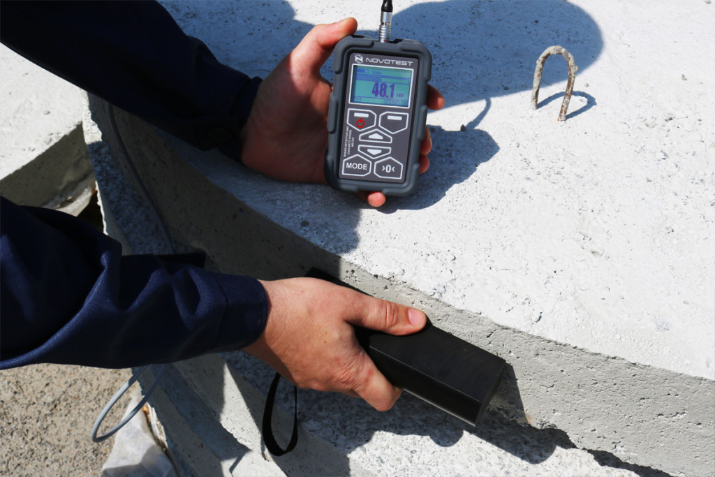 Concrete Cover Meter NOVOTEST Rebar Detector 8
